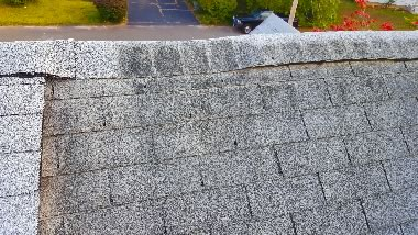20151016 160628 black roof streaks before cleaning small