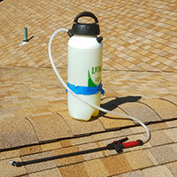 pump up sprayer is application meathod - no pressure